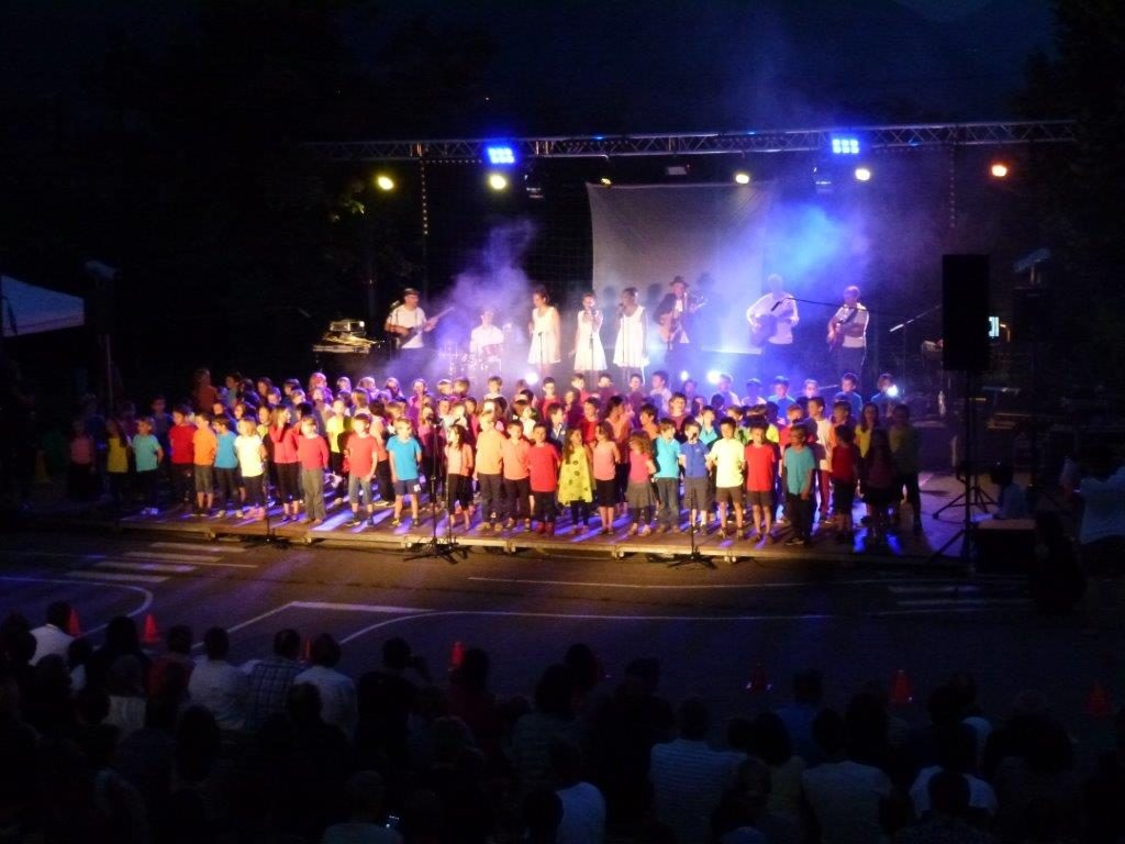 spectacle St Martin d'uriage projet ecole